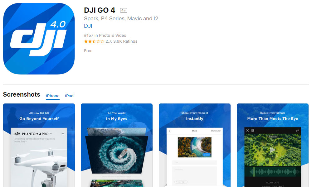 HOW TO: Reinstall DJI GO on an Apple device – DJI Drone News